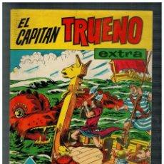 Tebeos: EL CAPITÁN TRUENO EXTRA. ALMANAQUE PARA 1961.. BRUGUERA. ORIGINAL. MUY BUENO.. Lote 194349811