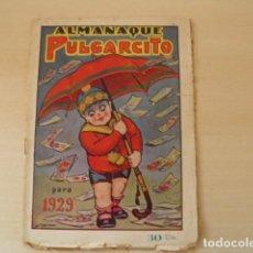 Livros de Banda Desenhada: PULGARCITO, ALMANAQUES DE 1923 Y 1929.. Lote 196359843
