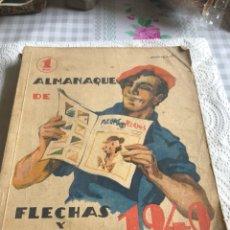 Tebeos: ALMANAQUE FLECHAS Y PELAYO 1940. Lote 197205100