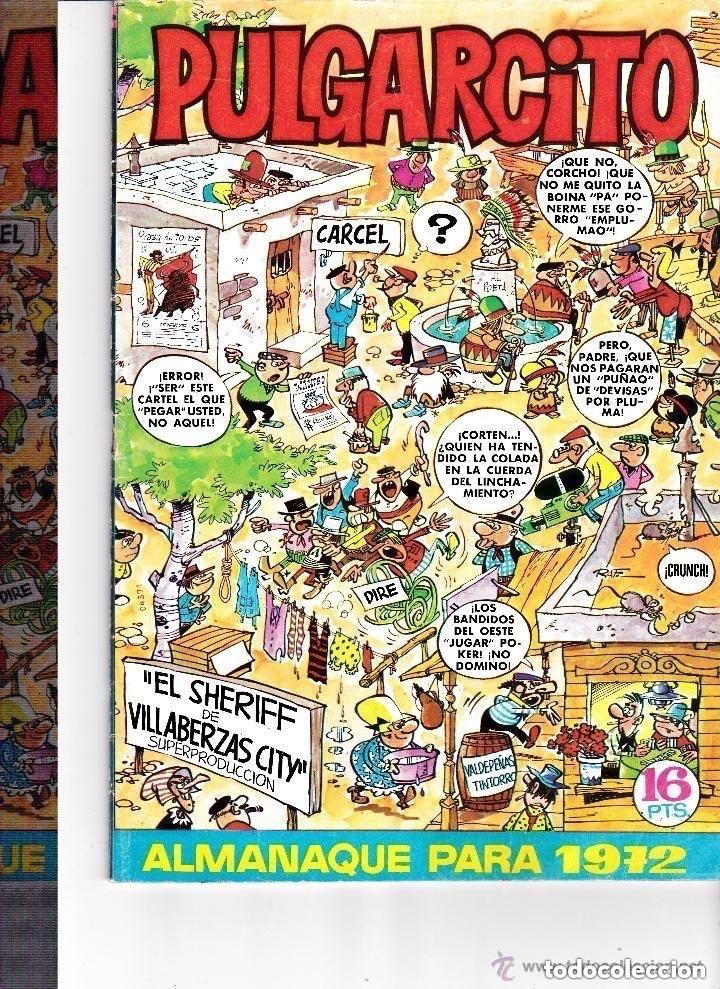 PULGARCITO ALMANAQUE 1972 (Tebeos y Comics - Tebeos Almanaques)