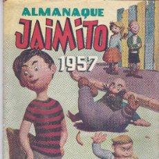 Tebeos: ALMANAQUE JAIMITO 1957- PEQUEÑA ROTURA EN ANVERSO/REVERSO. Lote 197387260