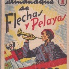 Tebeos: ALMANAQUE 1939 FLECHAS Y PELAYOS. Lote 197387392