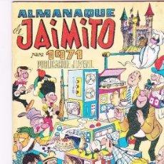 Tebeos: ALMANAQUE JAIMITO 1971. Lote 197388101