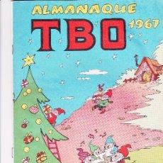 Tebeos: ALMANAQUE TBO 1967. Lote 197389653