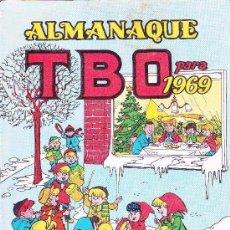 Livros de Banda Desenhada: ALMANAQUE TBO 1969. Lote 197389815
