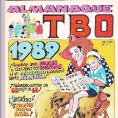 Tebeos: ALMANAQUE TBO 1989. Lote 197390140
