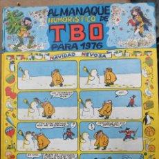 BDs: ALMANAQUE HUMORÍSTICO Y DE TBO PARA 1976. Lote 197766315