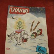 Livros de Banda Desenhada: TÍO VIVO - ALMANAQUE 1962 - 5 PESETAS - BRUGUERA - EL SEMANARIO DE LAS CARCAJADAS. Lote 197892731