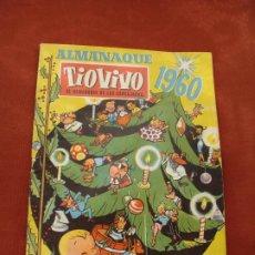 Livros de Banda Desenhada: TÍO VIVO - ALMANAQUE 1960 - 5 PESETAS (1 DURO) - BRUGUERA - EL SEMANARIO DE LAS CARCAJADAS. Lote 197893158