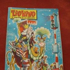 Livros de Banda Desenhada: TÍO VIVO - ALMANAQUE 1961 - 5 PESETAS - BRUGUERA - EL SEMANARIO DE LAS CARCAJADAS. Lote 197893450