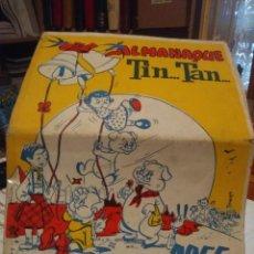 Livros de Banda Desenhada: ALMANAQUE TIN...TAN AÑO 1955. Lote 197972787