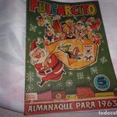 Livros de Banda Desenhada: PULGARCITO ALMANAQUE 1963. Lote 198142190