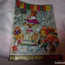 Livros de Banda Desenhada: PULGARCITO ALMANAQUE 1968 Y SHERIFF KING. Lote 198283118