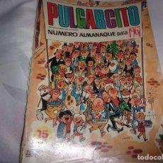 Livros de Banda Desenhada: PULGARCITO ALMANAQUE 1967 Y SHERIFF KING. Lote 198283218