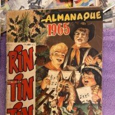 Giornalini: ALMANAQUE RIN TIN TIN 1965. Lote 199435873