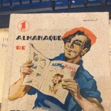 Livros de Banda Desenhada: FLECHAS Y PELAYOS ALMANAQUE 1940. Lote 199444552