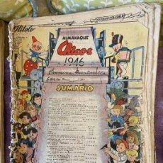 Livros de Banda Desenhada: CHICOS ALMANAQUE 1946 5. Lote 199687815