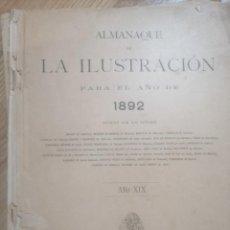 Tebeos: ALMANAQUE LA ILISTRACION 1892. Lote 199865723