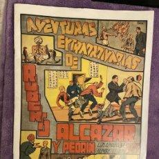 Livros de Banda Desenhada: FACSIMIL ALMANAQUE ROBRTO ALCAZAR Y PEDRIN 1943 MUY BUEN ESTADO. Lote 199892665