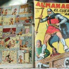 Tebeos: EL-GUERRERO-DEL-ANTIFAZ-ALMANAQUE-1950 -ORIGINAL. Lote 200547621