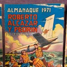 BDs: ROBERTO ALCAZAR Y PEDRIN ALMANAQUE 1971 2. Lote 200602433