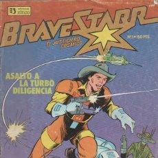 Tebeos: BRAVE STARR. EL JUSTICIERO COSMICO ( ZINCO ) AÑO 1987 LOTE. Lote 43426238