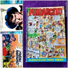 Tebeos: PULGARCITO ALMANAQUE PARA 1972 BUEN ESTADO. Lote 203867308