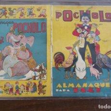 Tebeos: ALMANAQUE 1947 POCHOLO. Lote 204645875