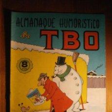 Tebeos: TBO - ALMANAQUE HUMORÍSTICO - AÑO 1967. Lote 204793880