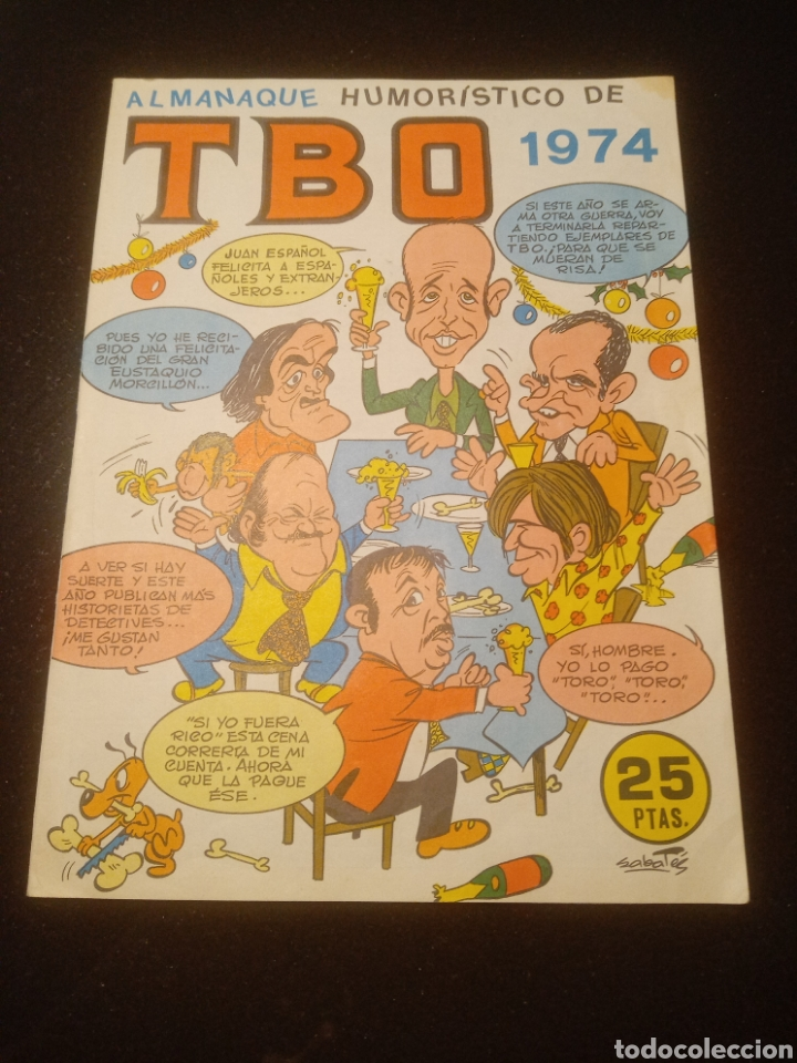 TBO 1974 ALMANAQUE HUMORISTICO (Tebeos y Comics - Tebeos Almanaques)