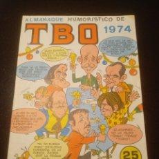 Tebeos: TBO 1974 ALMANAQUE HUMORISTICO. Lote 205066010