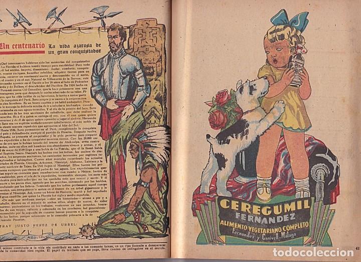 Tebeos: ALMANAQUE 1942 FLECHAS Y PELAYOS - Foto 4 - 205656475