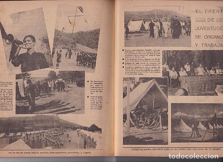 Tebeos: ALMANAQUE 1942 FLECHAS Y PELAYOS - Foto 5 - 205656475