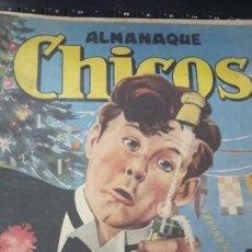 Tebeos: ALMANAQUE CHICOS 1947 ORIGINAL. Lote 208561800