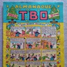 Tebeos: TBO ALMANAQUE 1955. Lote 209391092