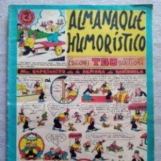 Tebeos: TBO ALMANAQUE HUMORISTICO 1955. Lote 209391462