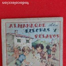 Tebeos: ALMANAQUE DE FLECHAS Y PELAYOS 1942 ORIGINAL CT1. Lote 209604723