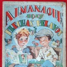 Tebeos: ALMANAQUE DE FLECHAS Y PELAYOS 1947 ORIGINAL CT1. Lote 210638961
