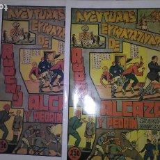 BDs: * ROBERTO ALCAZAR Y PEDRIN ALMANAQUE 1943 * (EDICION FACSIMIL, CON SOBRECUBIERTA). Lote 210645600