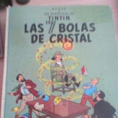 Tebeos: TINTIN LAS SIETE BOLAS DE CRISTAL HERGE TAPA DURA-EDICION 1985. Lote 211561432