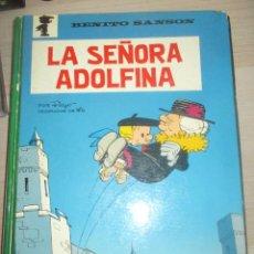 Tebeos: BENITO SANSÓN - LA SEÑORA ADOLFINA - PEYO - ARGOS 1971. Lote 211561670