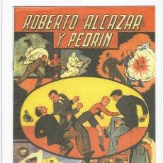 BDs: * FACSIMIL: ALMANAQUE ROBERTO ALCAZAR Y PEDRIN PARA 1944: EL DUENDE AMARILLO.*. Lote 211873261