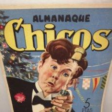 Tebeos: EL GRAN CHICOS, ALMANAQUE CHICOS 1947 (COMIC). Lote 212772433