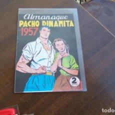 BDs: MAGA, PACHO DINAMITA ALMANAQUE 1957 EN FACSÍMIL. Lote 212819941