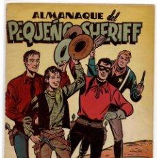 BDs: ALMANAQUE DEL PEQUEÑO SHERIFF 1951 .- EDICIONES HISPANO AMERICANA. Lote 213024375