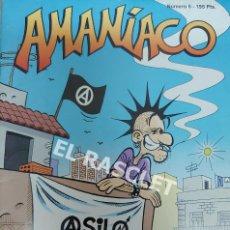 Tebeos: ANTIGUO ALMANAQUE - AMANIACO .- Nº 5 - ASILO OKUPADO -. Lote 214463782