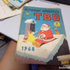 Tebeos: ALMANAQUE DE TBO 1968 8 PTAS. Lote 215531345