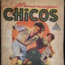 Tebeos: ALMANAQUE CHICOS 1945 - CÓMIC. Lote 216672008