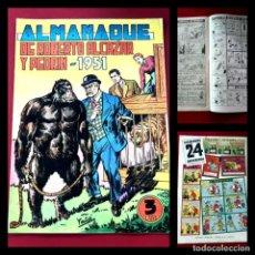 Tebeos: ALMANAQUE ROBERTO ALCAZAR Y PEDRIN 1951 -ORIGINAL- EXCELENTE ESTADO. Lote 217510658