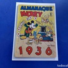 Tebeos: ALMANAQUE 1936 -MICKEY -ORIGINAL. Lote 218147070